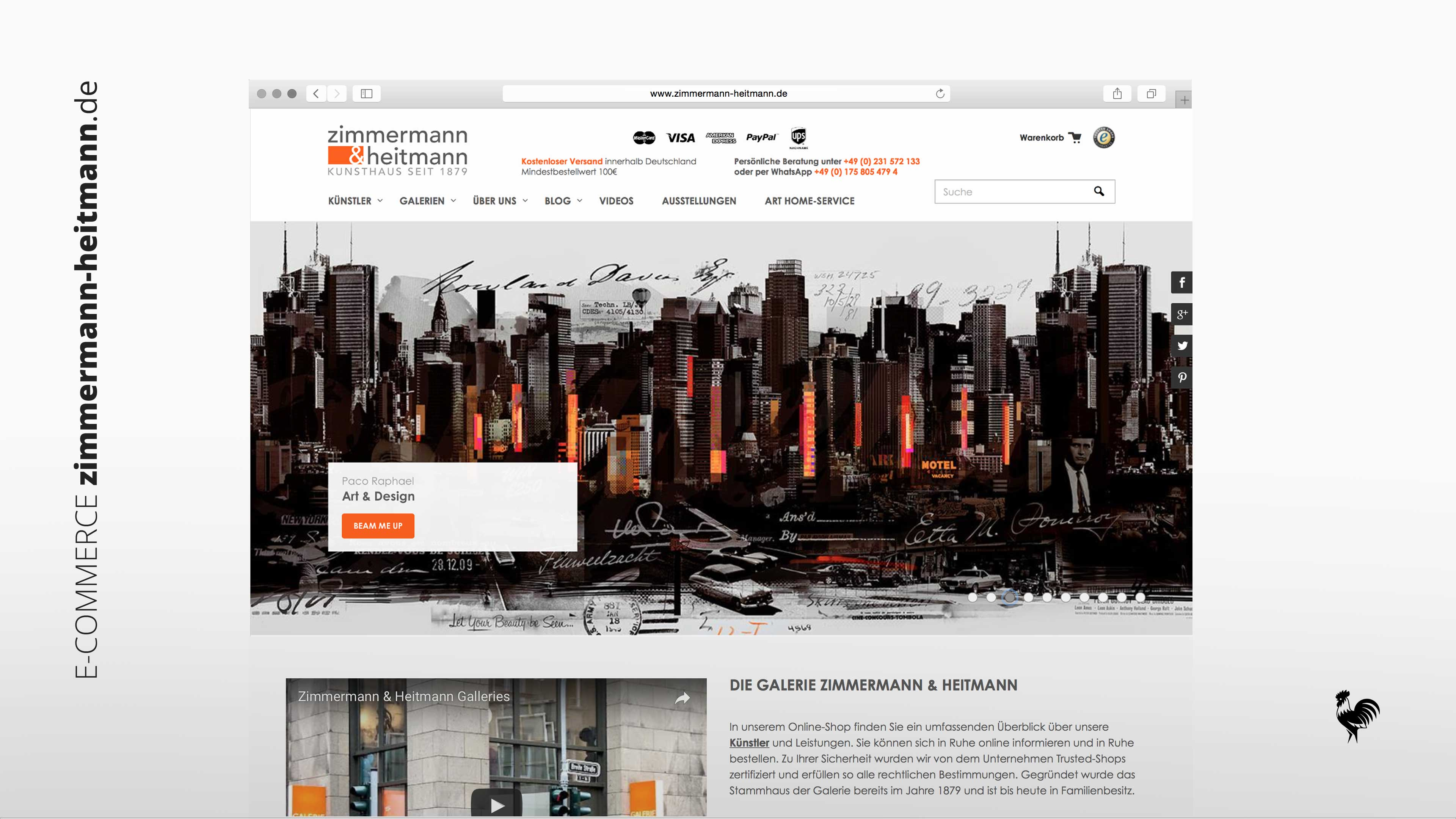 E-Commerce Onlinshop Design zimmermann-heitmann